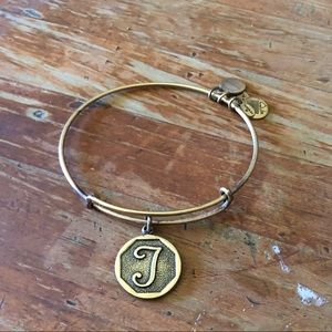 Alex and Ani Expandable Wire Bangle Bracelet 2.5""